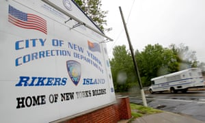 rikers island jail new york