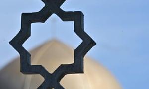 The Al Noor mosque in Christchurch.
