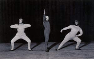 Bauhaus dancers in Dance of Space, 1926 Schlemmer was born in 1888 and studied art before being injured in the first world war. When he returned from the western front, he turned to sculpture and performing arts, working at the Bauhaus school in Weimar