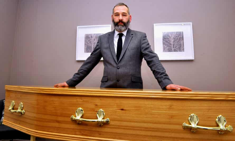 Symeon Waller of Doncaster Municipal Funerals