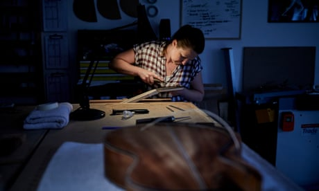 String theory: how to make an acoustic guitar – in pictures