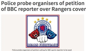 The Herald's online report about the police investigation.