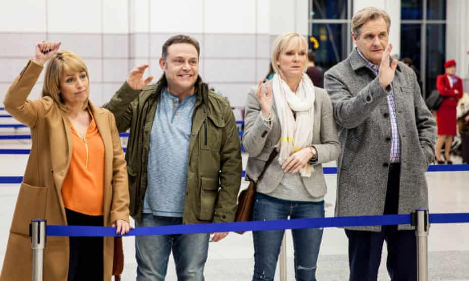 Reunited … from left, Fay Ripley, John Thomson, Hermione Norris and Robert Bathurst in Cold Feet.