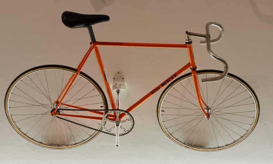 Eddy Merckx's hour record bike