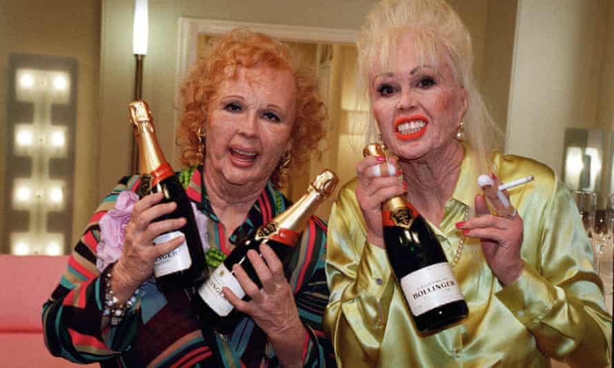 This 2001 episode of Absolutely Fabulous is called Menopause – the subject crops up frequently on comedy programmes.