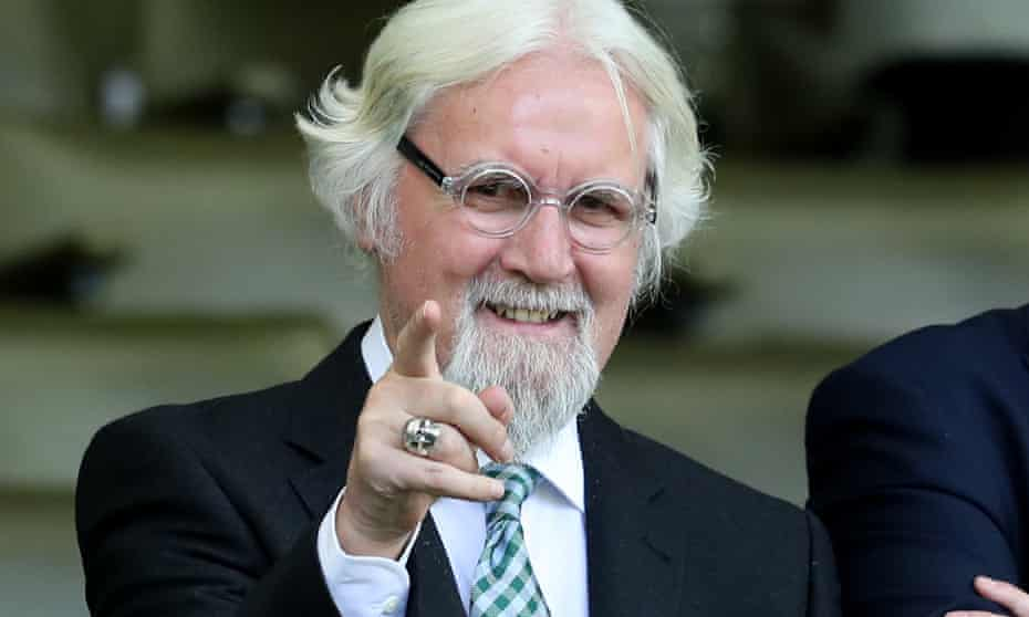 Billy Connolly said he used to say to his audience: 'Good evening, symptom spotters.'