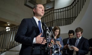 Adam Schiff, the top Democrat on the House intelligence committee.