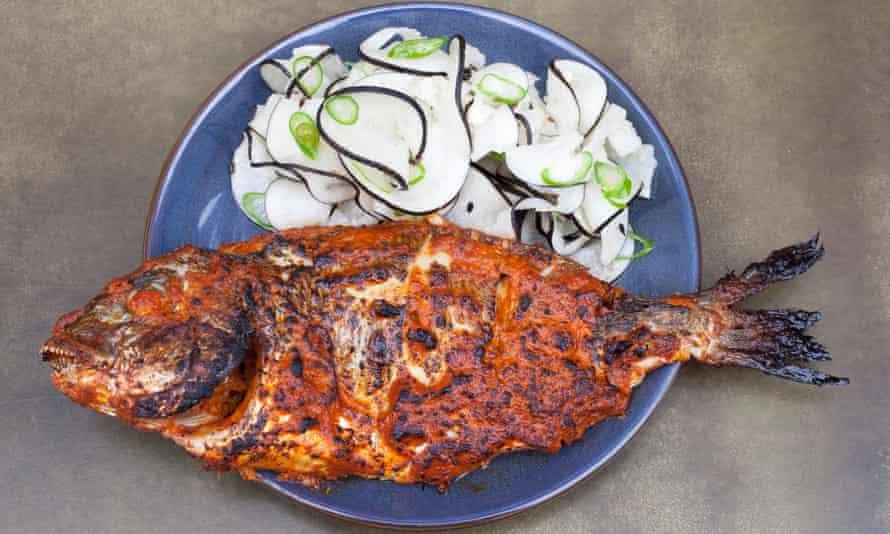 'The best dish of the lot': tandoori sea bream.