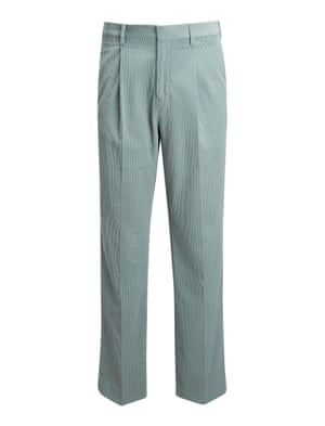 Corduroy colton trousers, £295, by Joseph.