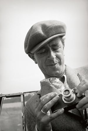 Portrait of Alfred Tritschler with a Leica, 1938