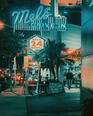 Mels Drive-In  in Los Angeles by photographer Franck Bohbot.