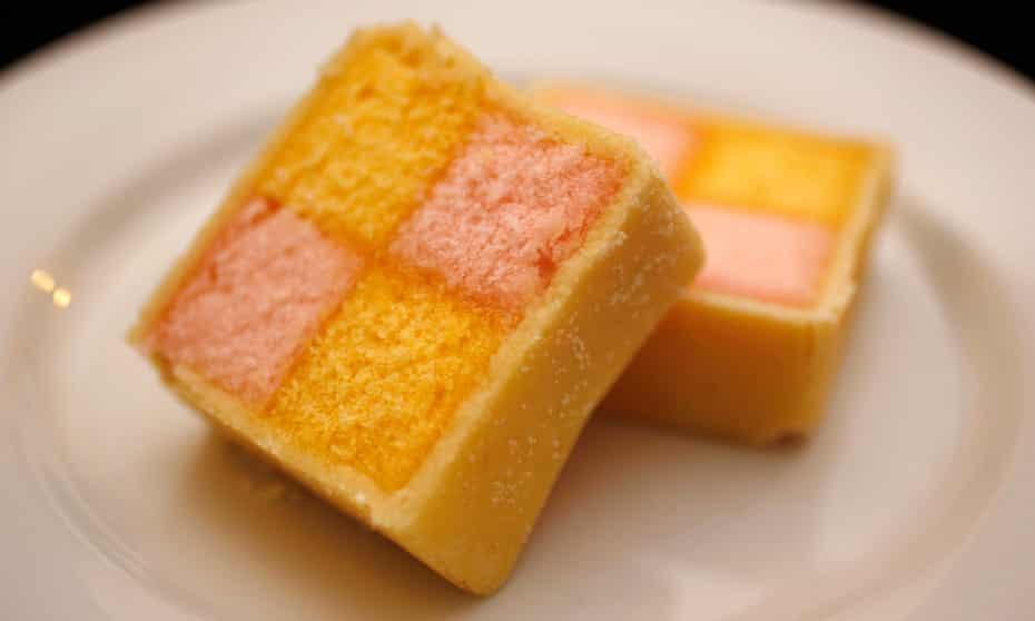 battenberg slices