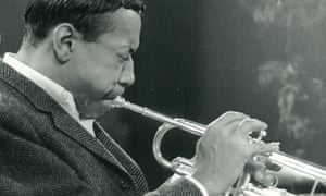 Horns aplenty … trumpeter Lee Morgan at the show's rehearsals in 1965.
