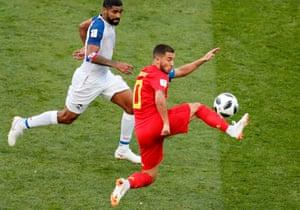 Eden Hazard in possession.