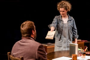 'She has, to use a non-academic term, quite a gob on her', said the Guardian about Jessica Baglow as Rita, alongside David Birrell in a revival at Bolton's Octagon theatre in 2017.