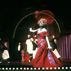 Channing played Dolly in three Broadway runs from the 1960s to the 1990s and on tours around the world.