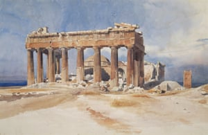 The Parthenon, Athens, 1834 by Charles Gleyre