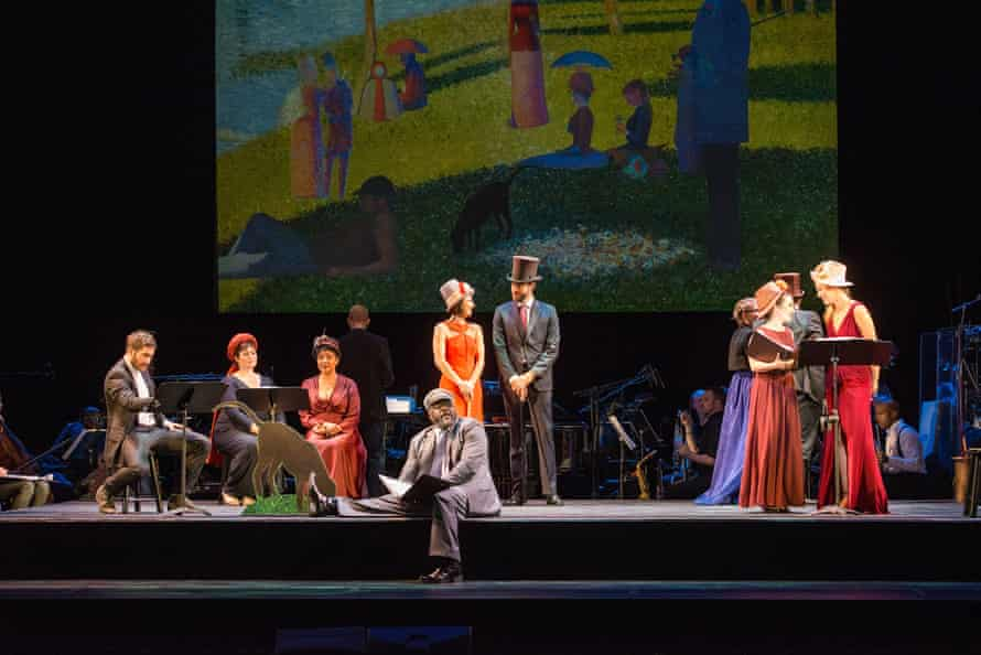 The concert performance reminds the audience of its meta-theatrical qualities.