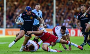 Exeter scored six tries during their semi-final victory over Northampton last weekend.
