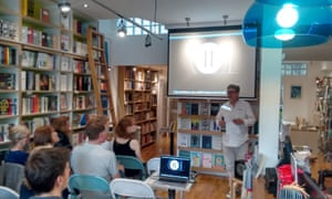A film event at Ink@84 bookshop