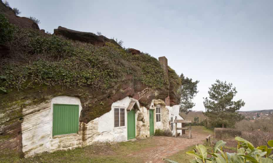 Kinver Edge and the Holy Austin Rock Houses, Staffordshire.