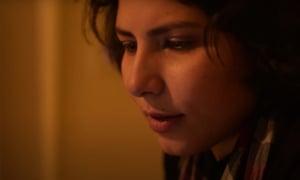 Filmmaker Sara Khaki at home during lockdown