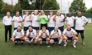 Harry Redknapp and his team of retired England professionals