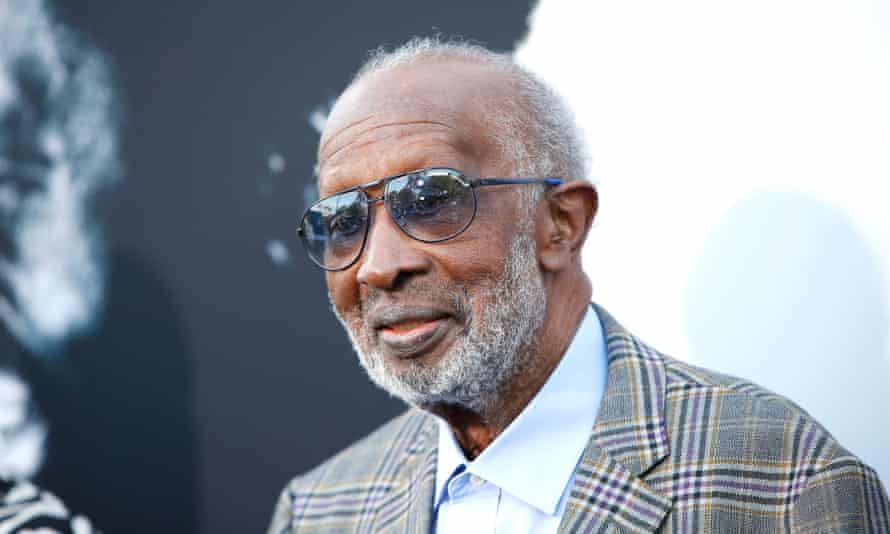 Clarence Avant at the world premiere of The Black Godfather