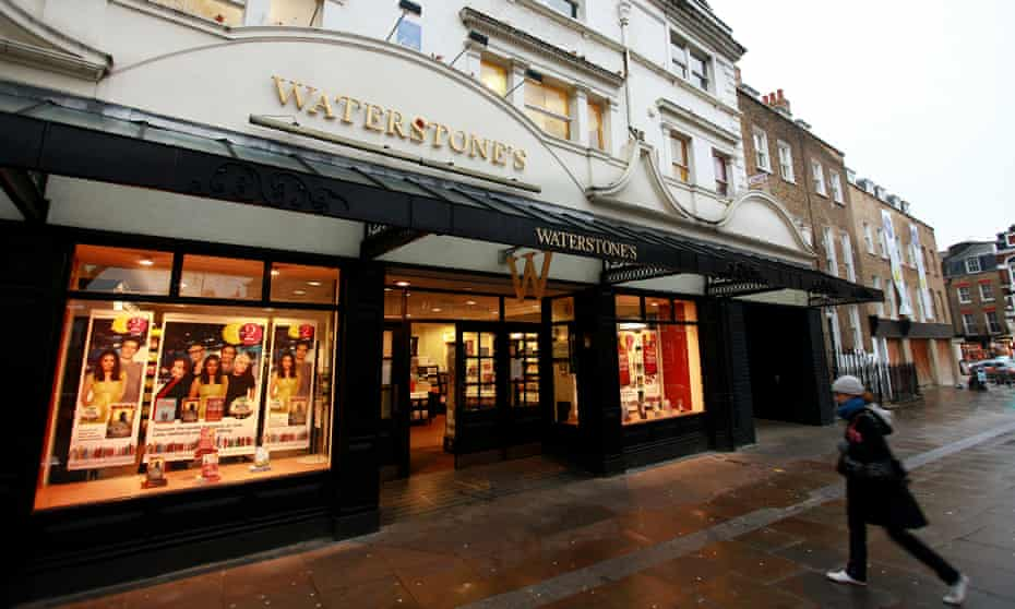 Waterstones stocks more than 150,000 titles.