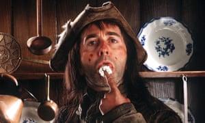 Tony Robinson as Baldrick in a episode of Blackadder.