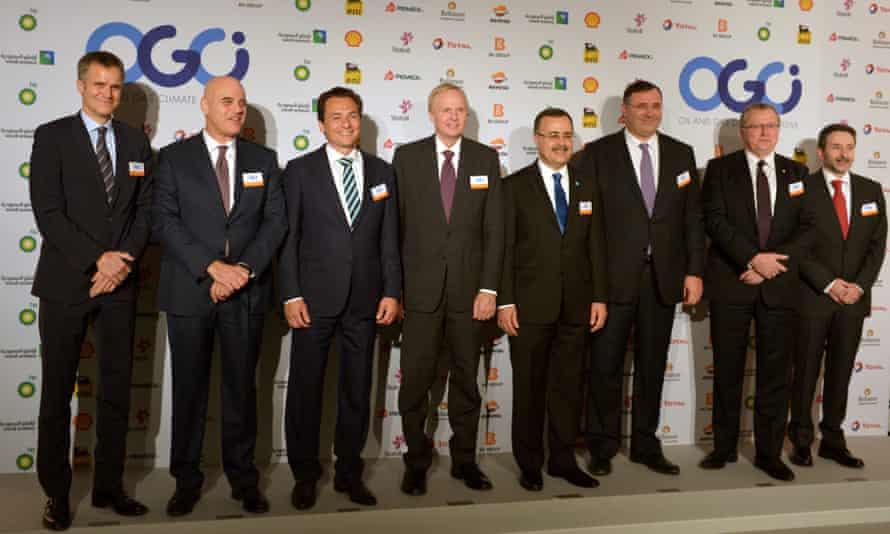 CEOs of 10 global oil and gas companies all for effective Paris deal