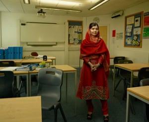 Malala Yousafzai in Birmingham, England, 2015.