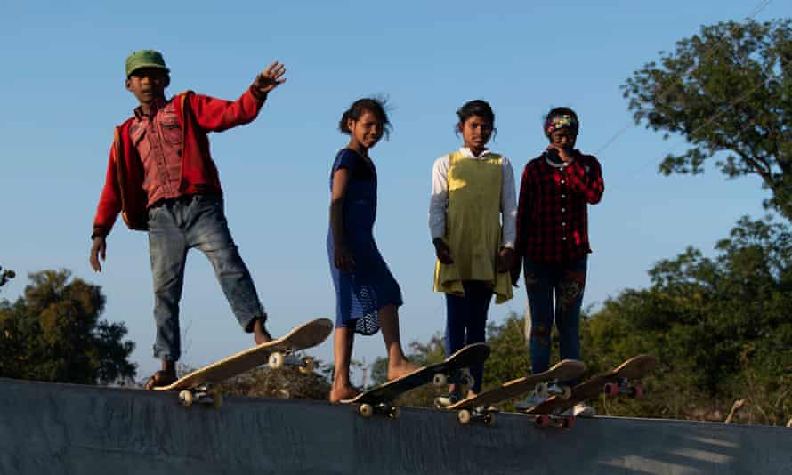 In a state where school attendance is low, children have responded with enthusiasm to the park