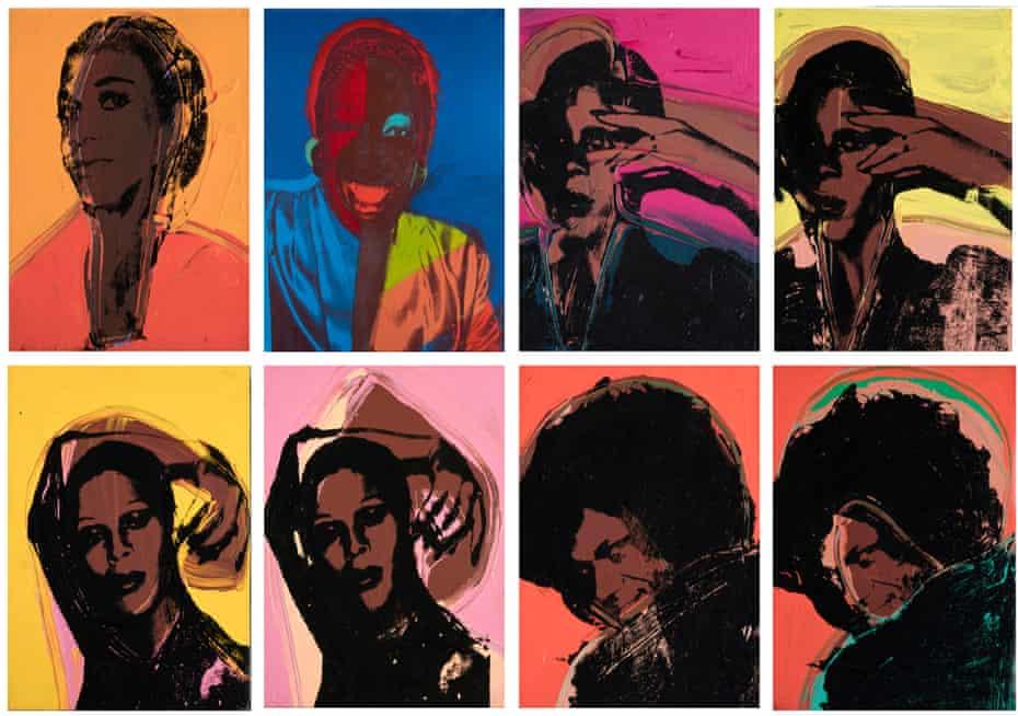 Andy Warhol's Ladies and Gentlemen, 1974.