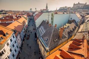 Bratislava's Old Town.