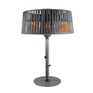 Kettler table-top electric patio heater, £149, johnlewis.com