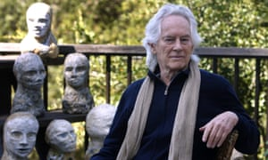 Michael McClure at his home in Oakland, California, 2010.