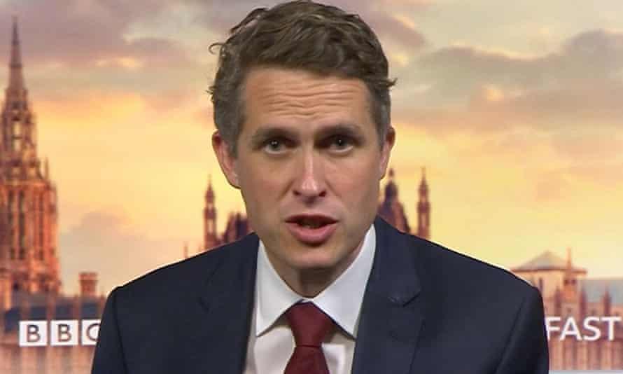 Gavin Williamson speaking on BBC Breakfast on Tuesday.