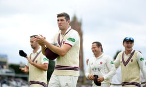 Somerset head off at Taunton after a 298-run victory over Yorkshire.