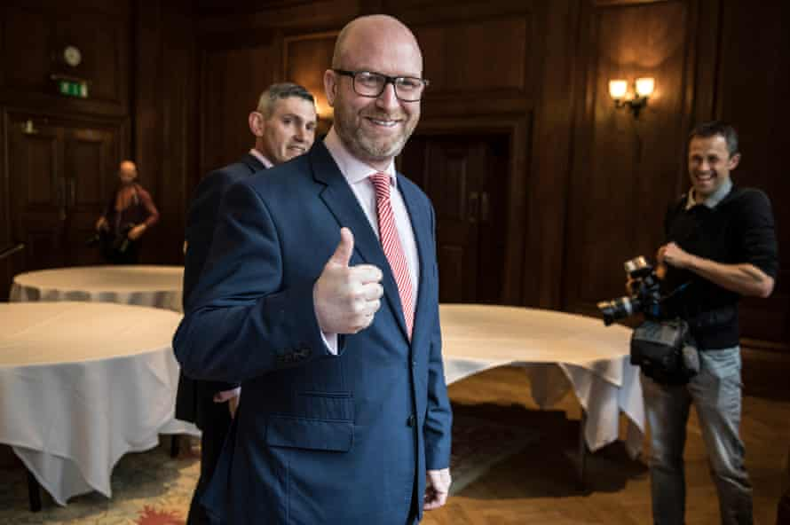 Paul Nuttall MEP about to hold press conference on Monday.