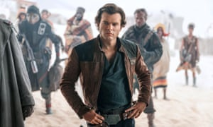 Doomed to fail … Alden Ehrenreich as Han Solo.