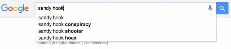 google sandy hook