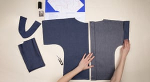 Pattern Project Kits aims to take the hard work out of home sewing. Launching with a limited number of low-impact made-by-you clothing kits, the first style is a boxy top (more will be added on demand). Each kit contains pre-cut panels annotated with helpful seam guides. The kits are available in two fabrics: Ink Blue and Natural Canvas. The natural canvas can be home-dyed, screen printed or painted at home. Fabrics are woven in Yorkshire and finished in Lancashire. £45, pattern-project.com