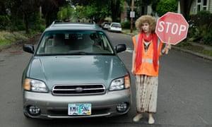 Brownstein in <em>Portlandia</em>.