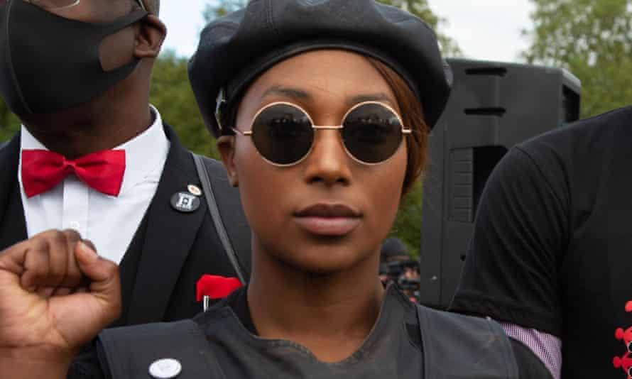 Sasha Johnson, co-organiser of the Million People March and Black Lives Matter activist,