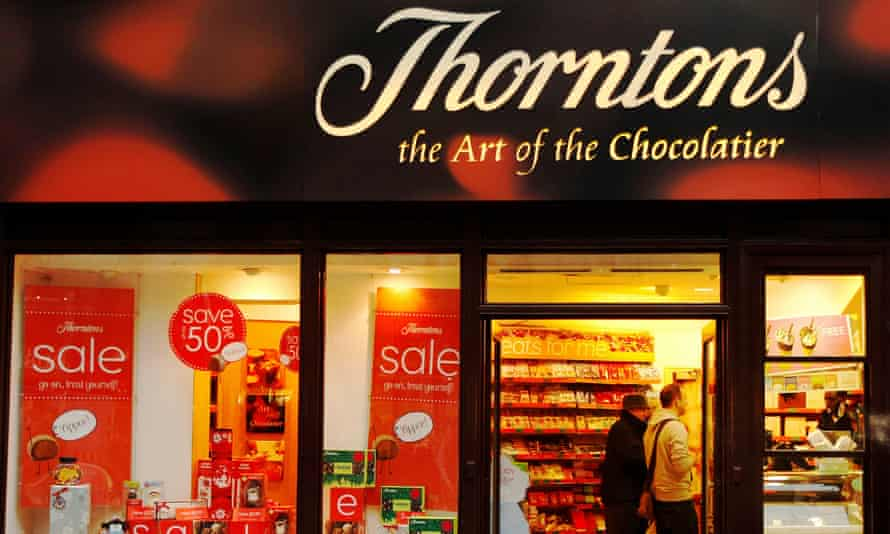 A Thorntons store