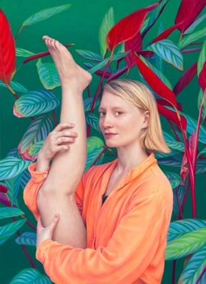 Mia at Home, 2019 by Megan Hales