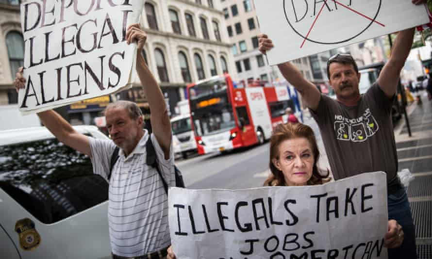 Obama immigration protest