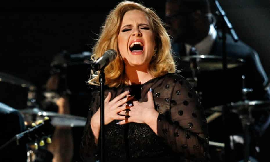 Adele's album 25 sold more than 8m copies.