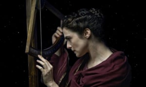 Rachel Weisz as the philosopher Hypatia in the 2009 film Agora.